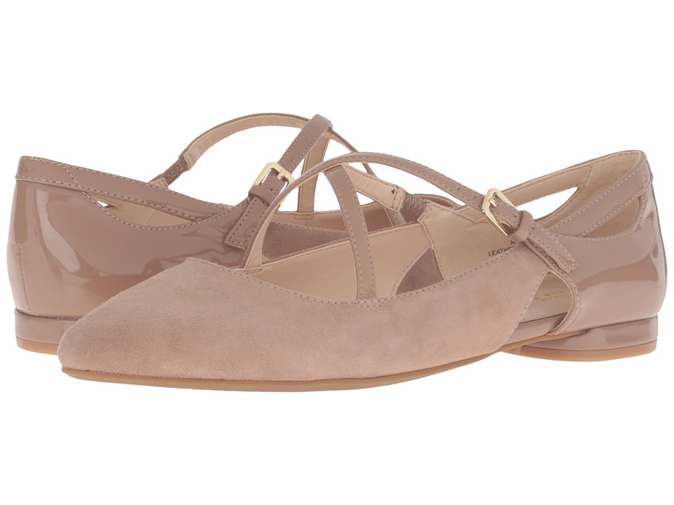Nine West - Osteria (Natural Suede) Women's Shoes