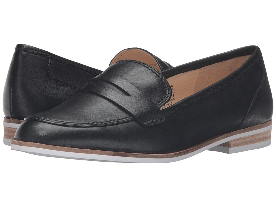 Nine West Adamson (Black Leather) Women