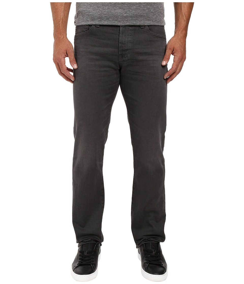 AG Adriano Goldschmied - Matchbox Slim Straight in 2 Years Dark Rock (2 Years Dark Rock) Men's Casual Pants