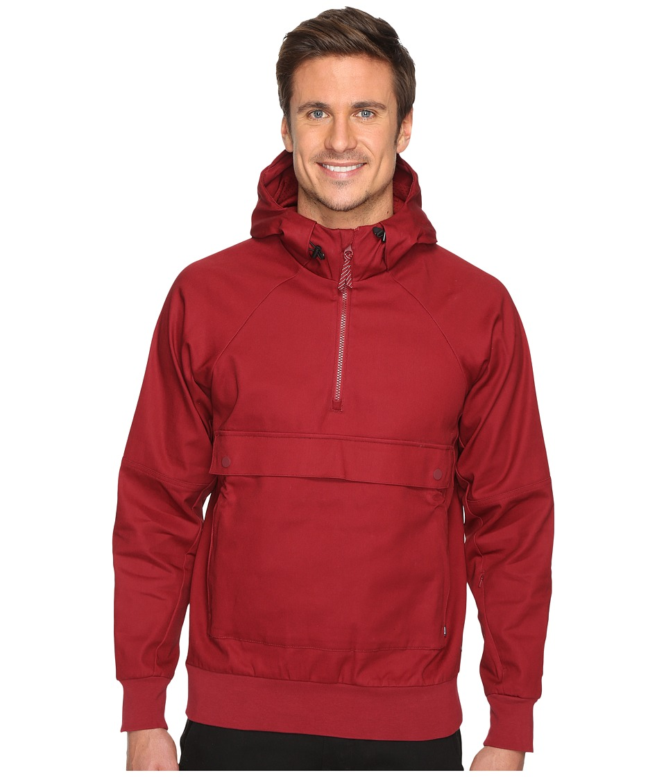 Nike SB - SB Everett Anorak Jacket (Team Red/Team Red/Team Red) Men's Coat