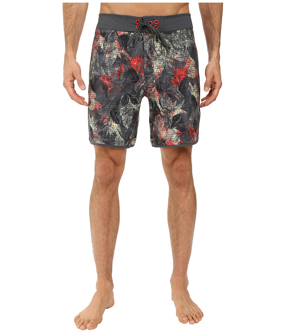The North Face - Whitecap Boardshorts - Short (Spruce Green Pineapple Print (Prior Season)) Men's Swimwear