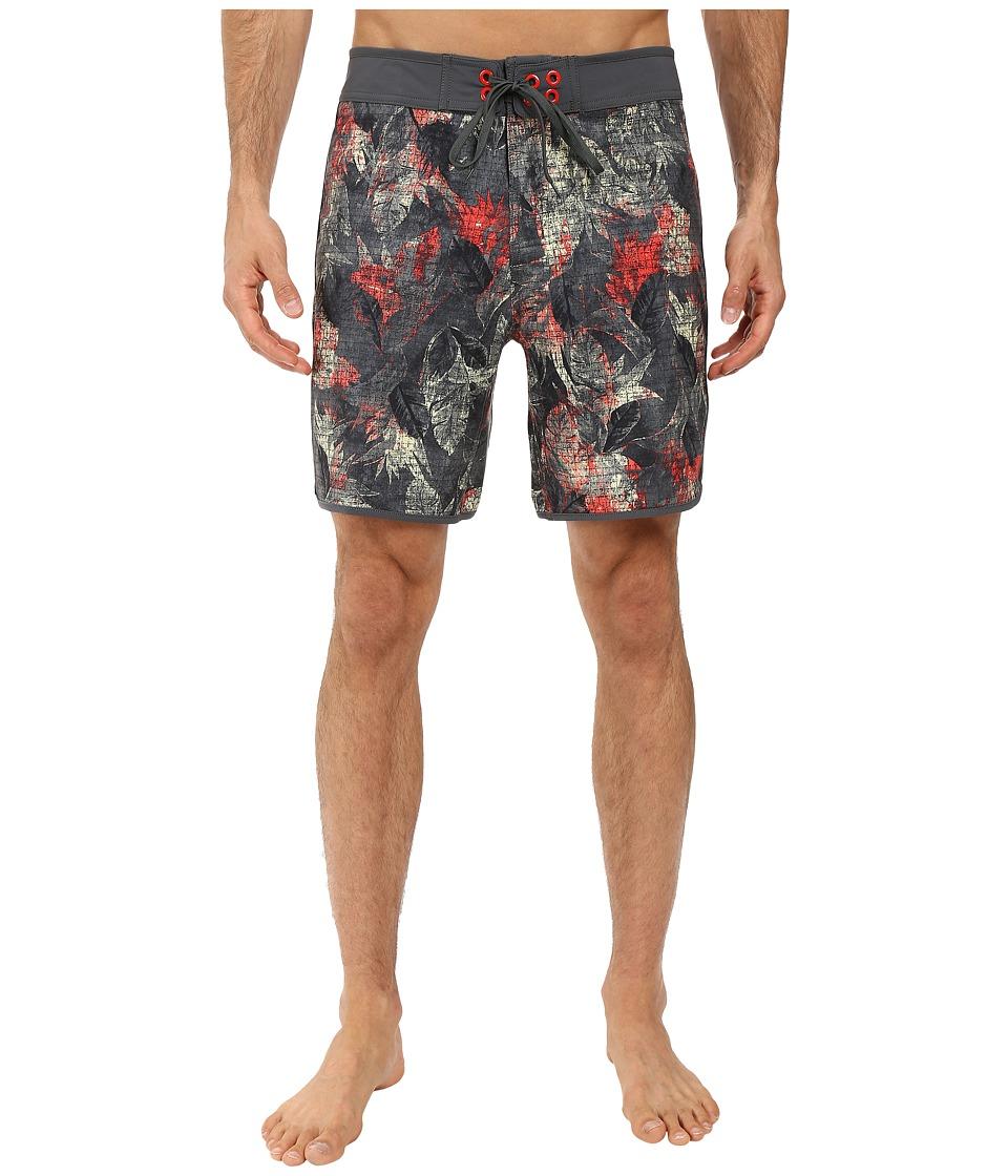 The North Face Whitecap Boardshorts Short (Spruce Green Pineapple Print) Men