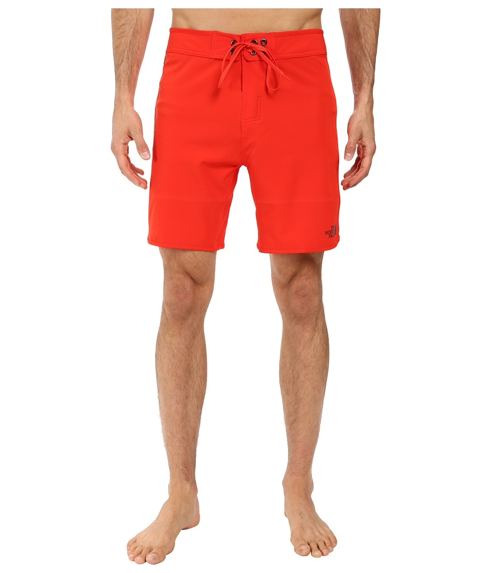 The North Face Whitecap Boardshorts Short (Fiery Red (Prior Season)) Men