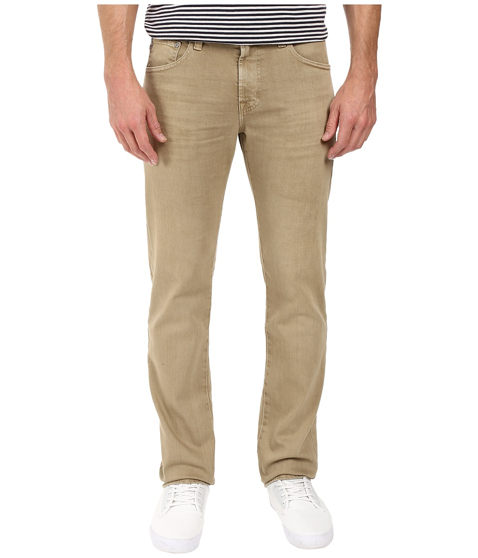 AG Adriano Goldschmied - Matchbox Slim Straight in 2 Years Infantry Khaki (2 Years Infantry Khaki) Men's Casual Pants