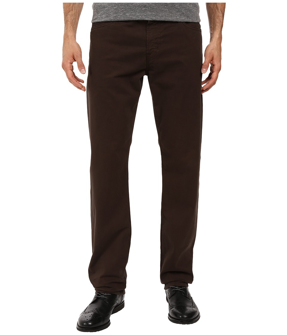 AG Adriano Goldschmied - Graduate Tailored Leg Pants in Deep Bark (Deep Bark) Men's Casual Pants
