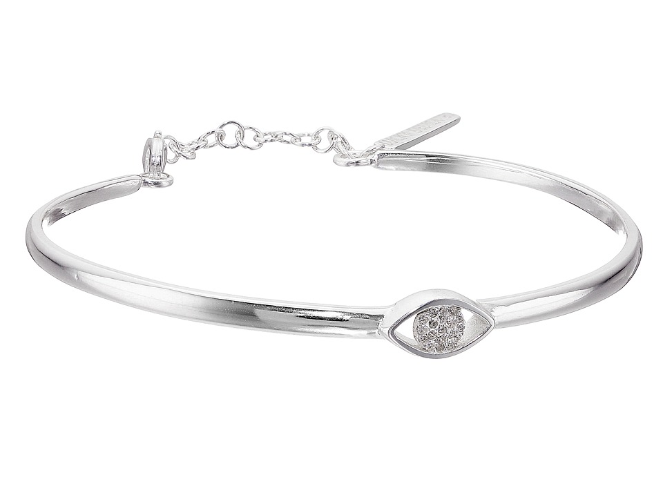 Lucky Brand - Delicate Evil Eye Bracelet (Medium Grey) Bracelet
