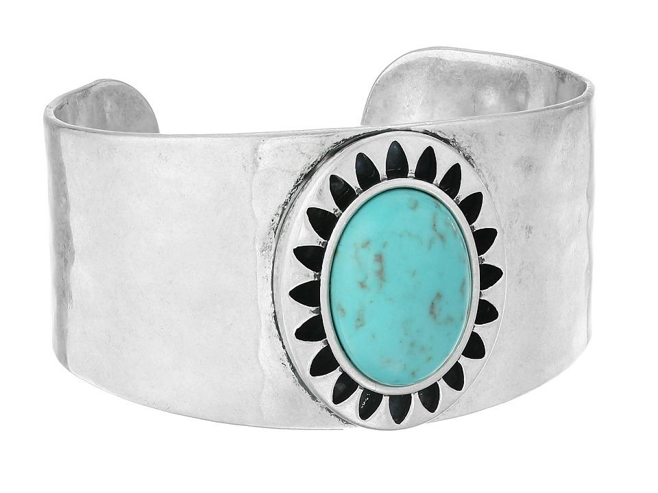 Lucky Brand - Turquoise Openwork Bracelet (Medium Grey) Bracelet