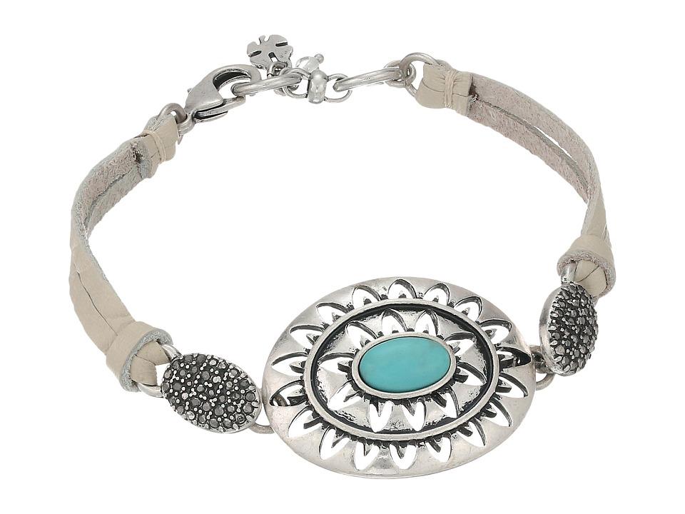 Lucky Brand - Openwork Link Bracelet (Medium Grey) Bracelet