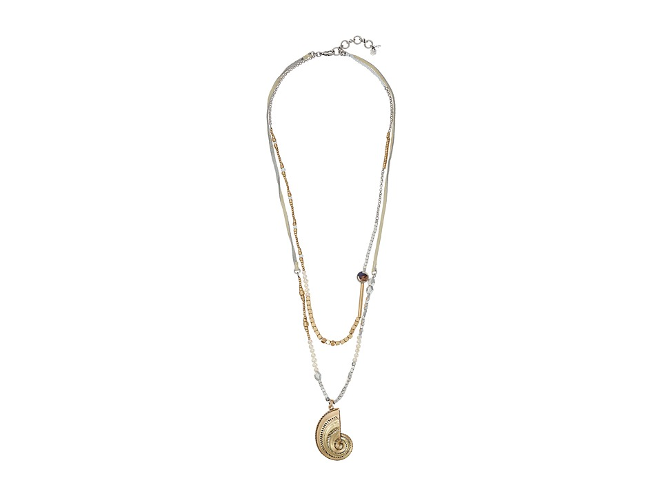 Lucky Brand - Pendant Necklace (Multi) Necklace