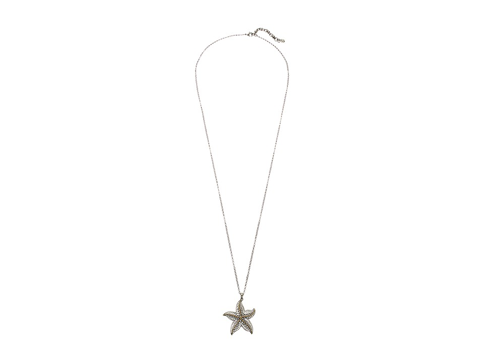 Lucky Brand - Starfish Pendant Necklace (Multi) Necklace