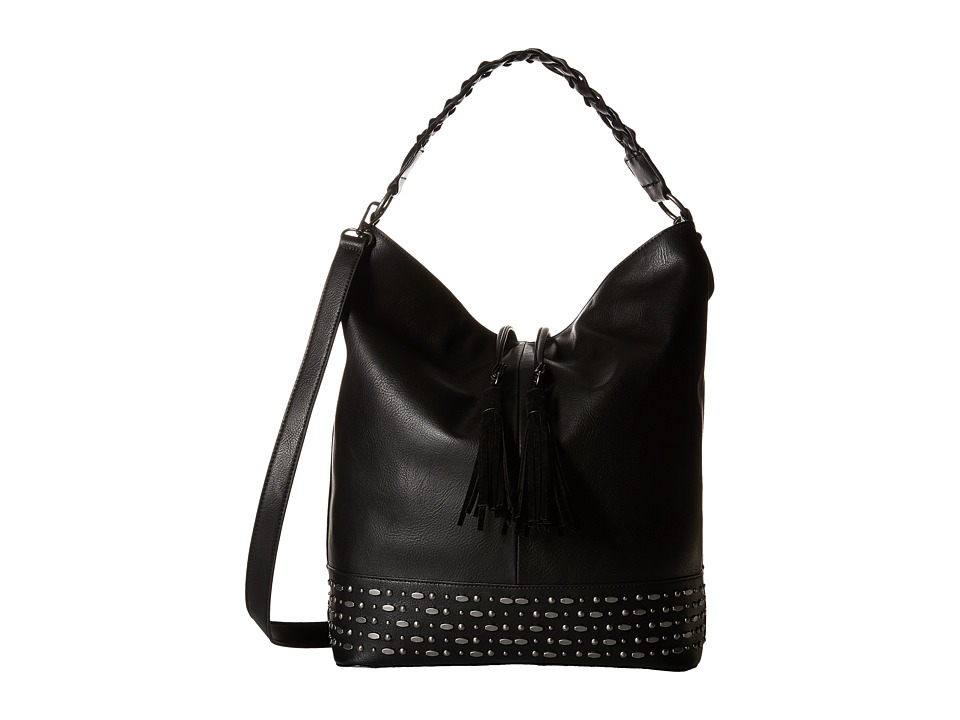 Steve Madden - Bthalia Large Hobo (Black) Hobo Handbags