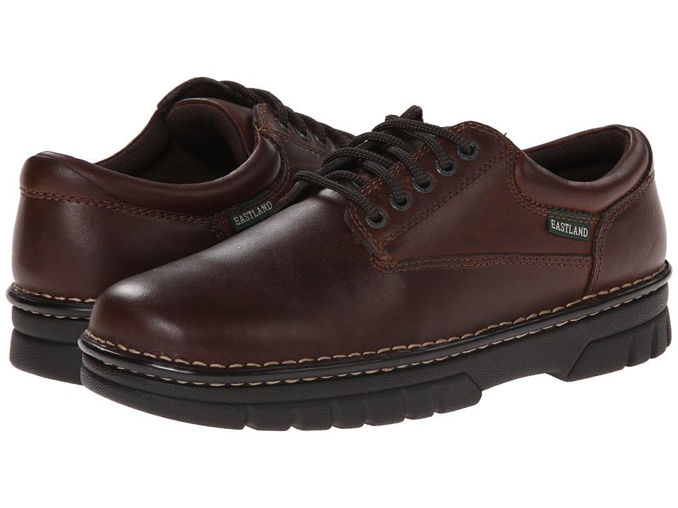 Eastland - Plainview (Brown Leather) Men's Shoes