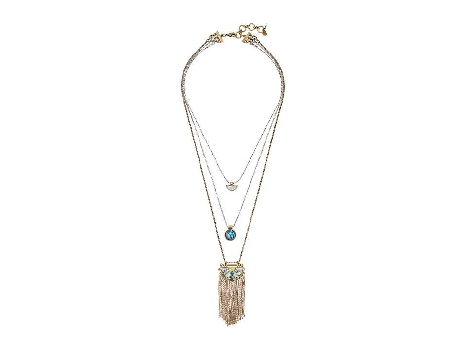 Lucky Brand - Lucky Layers Necklace (Multi) Necklace
