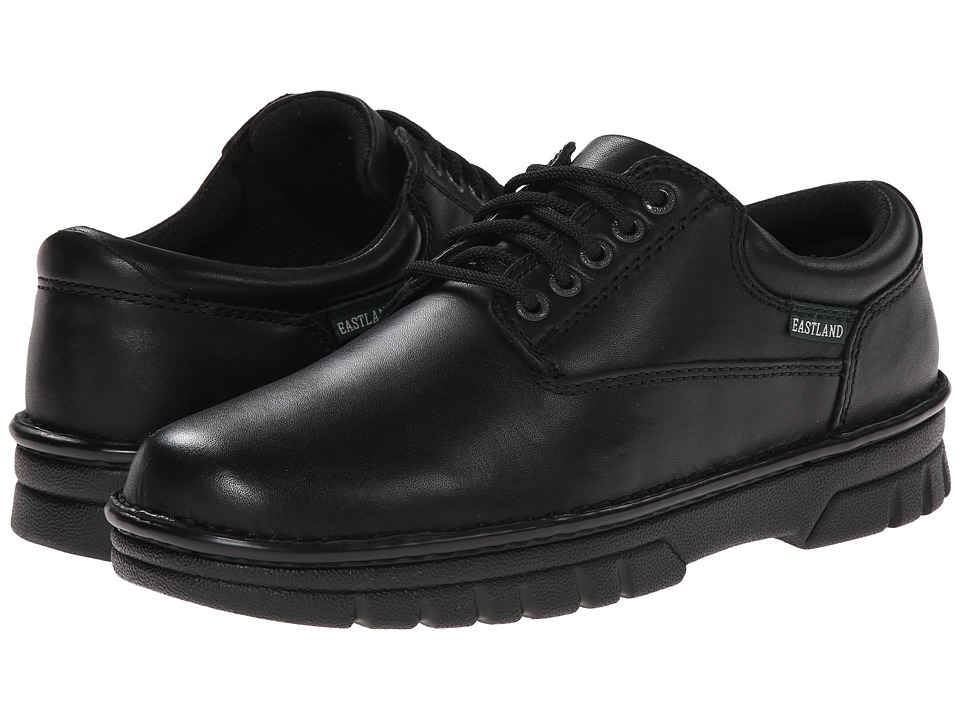 Eastland - Plainview (Black Leather) Men