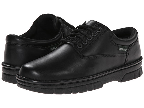 Eastland - Plainview (Black Leather) Men