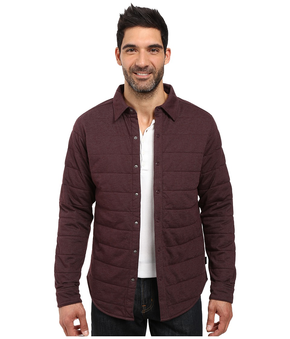 The North Face - Long Sleeve Send It Shacket (Root Brown) Men's Coat