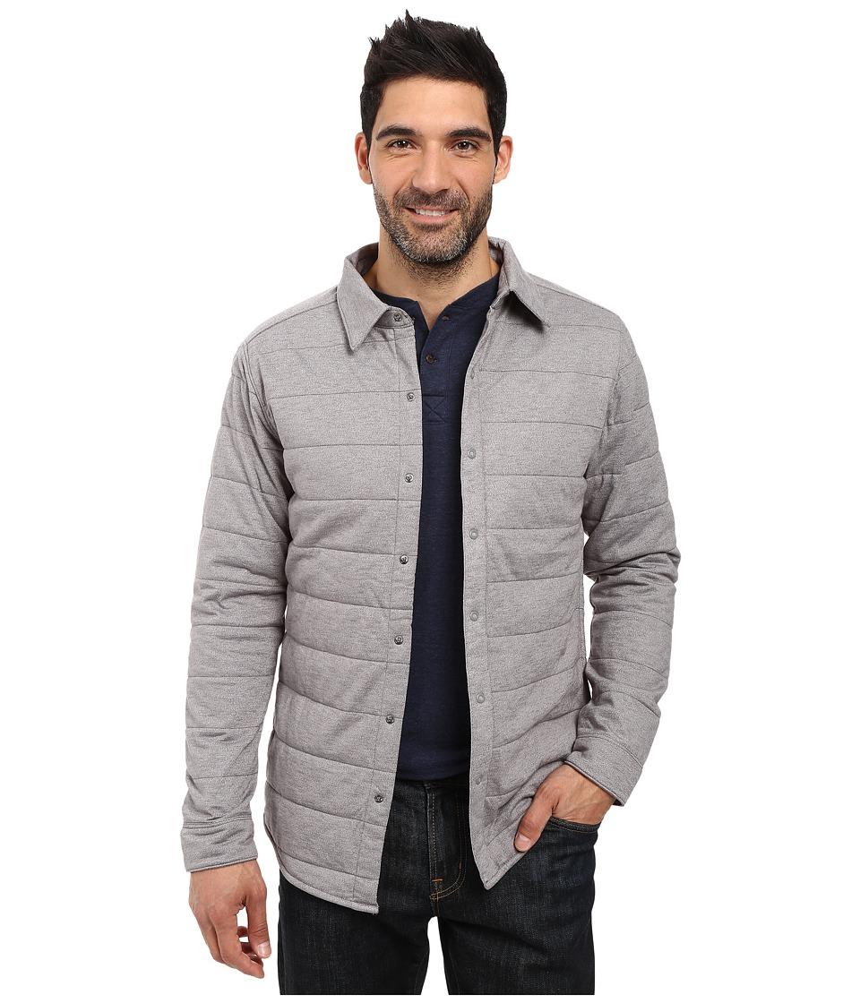 The North Face - Long Sleeve Send It Shacket (Zinc Grey) Men's Coat