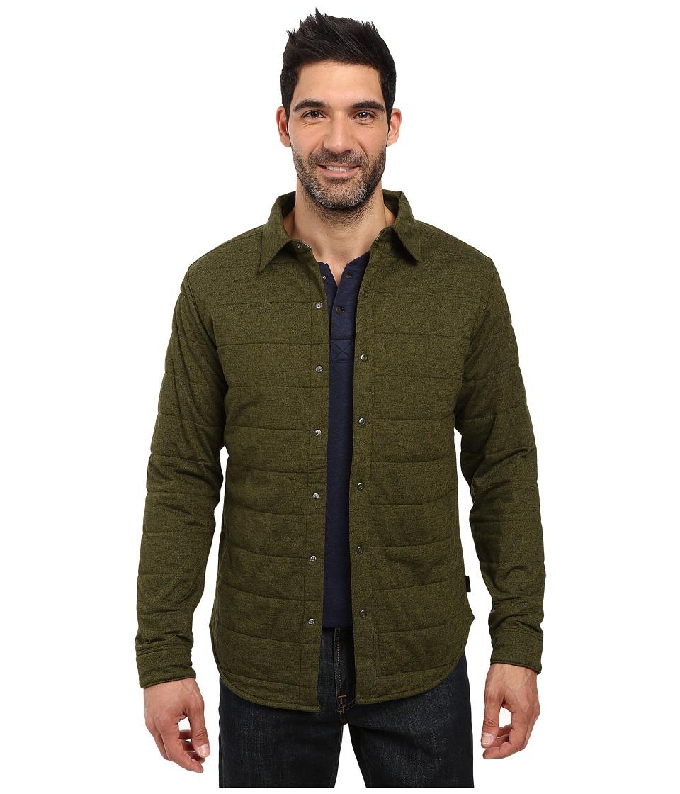 The North Face - Long Sleeve Send It Shacket (Rosin Green) Men's Coat