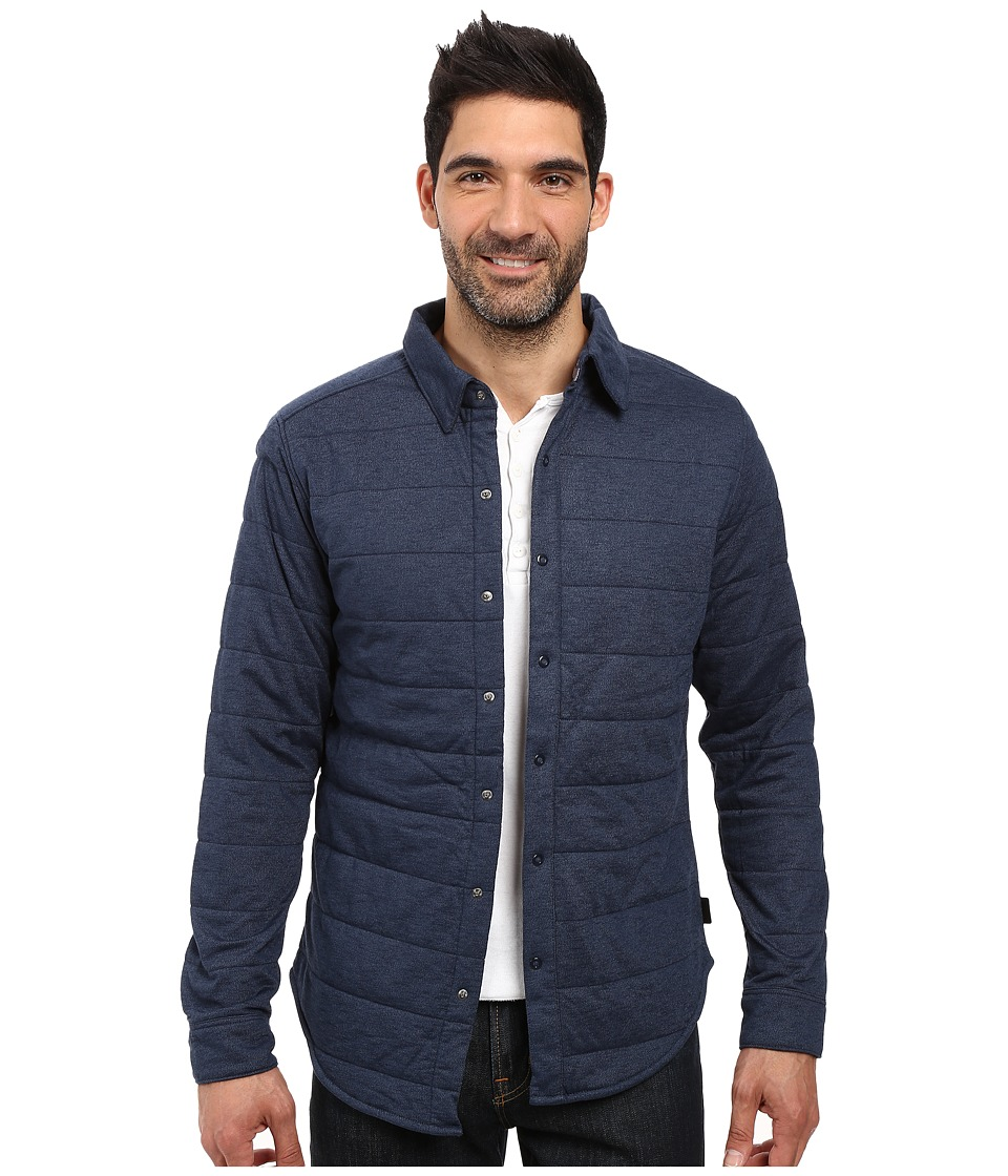 The North Face - Long Sleeve Send It Shacket (Urban Navy) Men's Coat