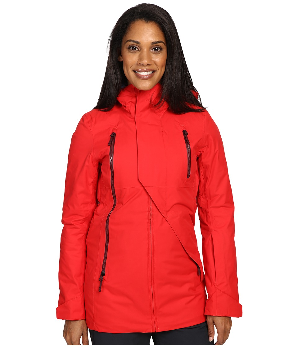 The North Face - Allchipsin Jacket (High Risk Red Wax) Women's Coat