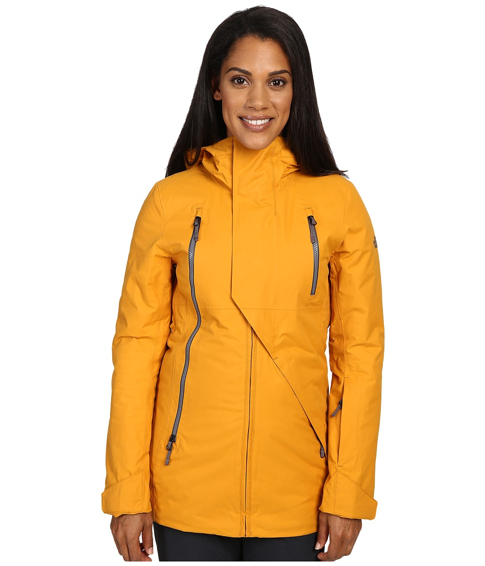 The North Face - Allchipsin Jacket (Citrine Yellow Wax) Women's Coat