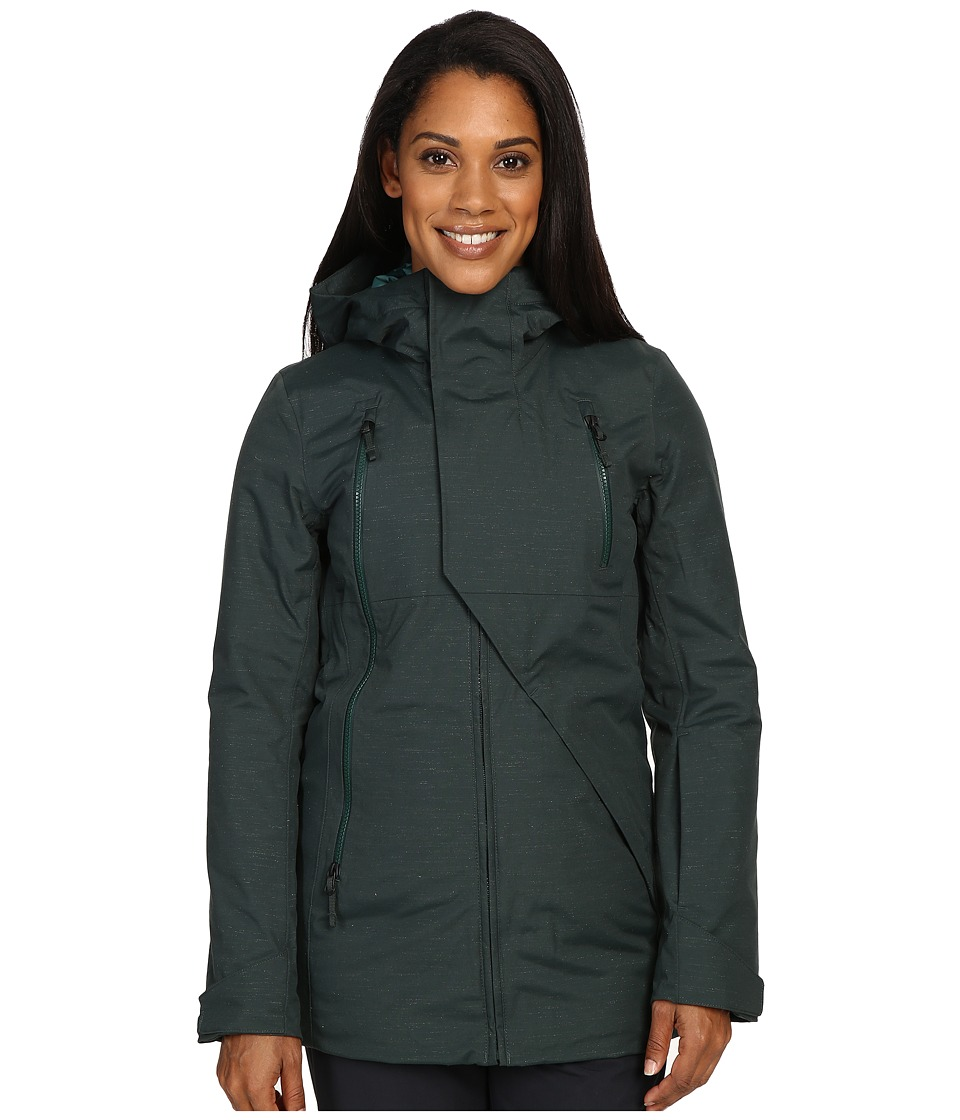 The North Face Allchipsin Jacket (Darkest Spruce) Women