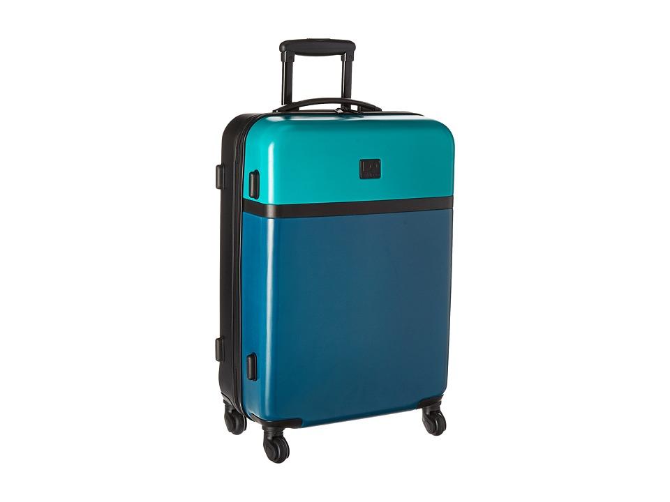 Diane von Furstenberg - Addison 24 Hardside Spinner (Lagoon/Teal/Black) Luggage