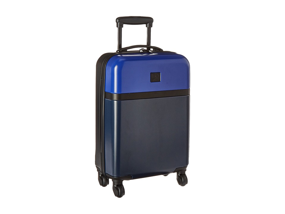 Diane von Furstenberg - Addison 20 Hardside Spinner (Lapis/Blue/Midnight/Black) Luggage