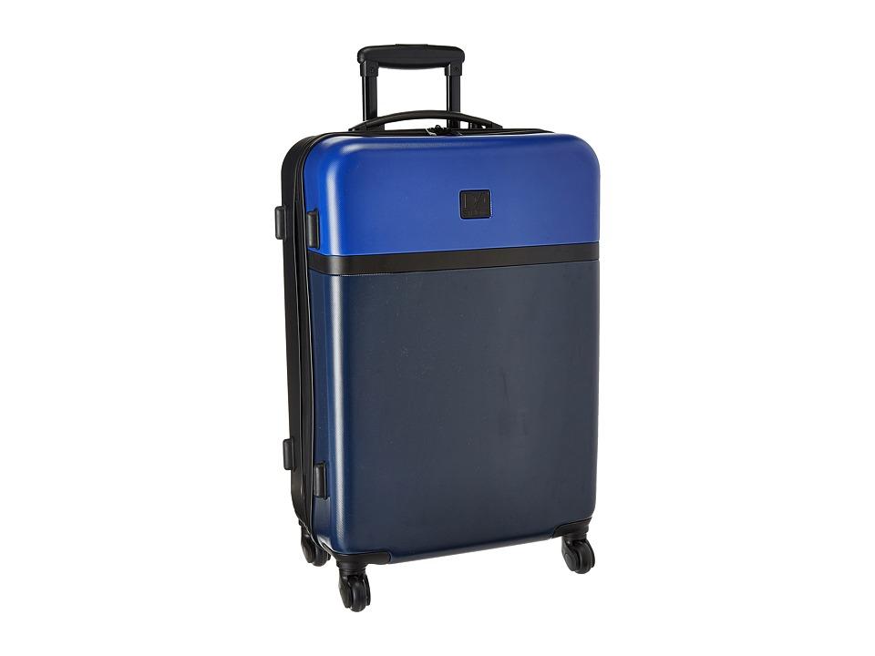 Diane von Furstenberg - Addison 24 Hardside Spinner (Lapis/Blue/Midnight/Black) Luggage
