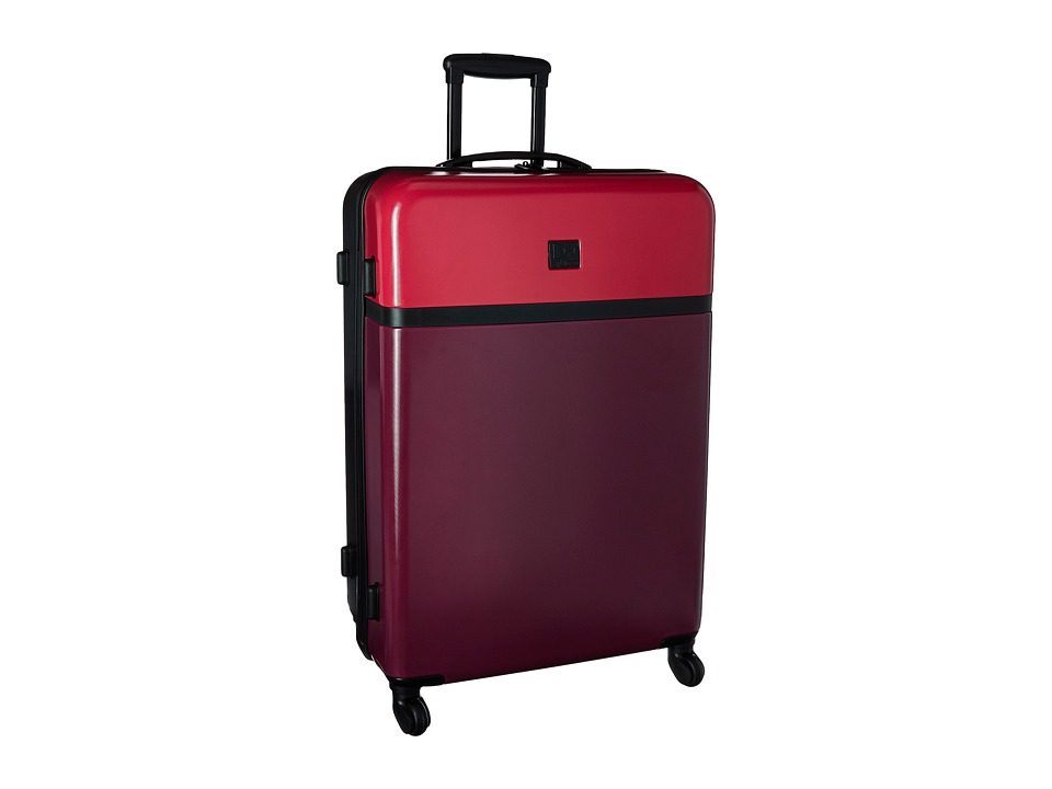 Diane von Furstenberg - Addison 28 Hardside Spinner (Dragon/Cerise/Black) Luggage