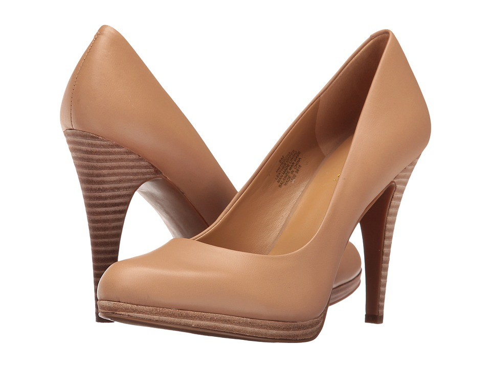 Nine West - Rocha (Natural Leather) High Heels