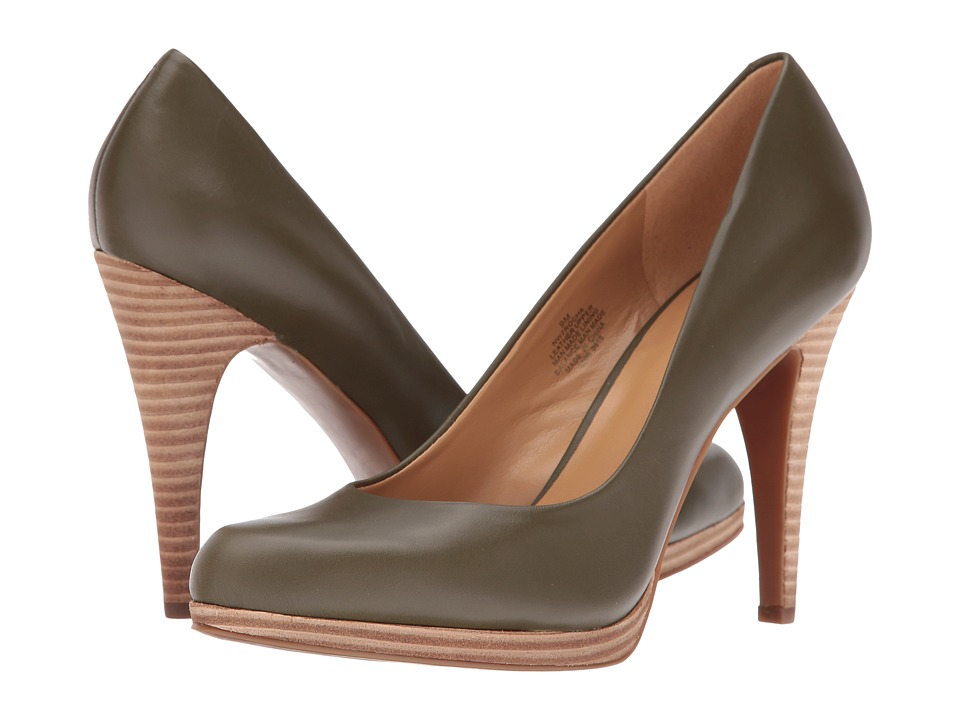 Nine West - Rocha (Dark Green Leather) High Heels
