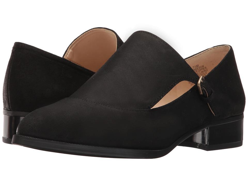 Nine West - Neeson (Black Leather) Women's Shoes