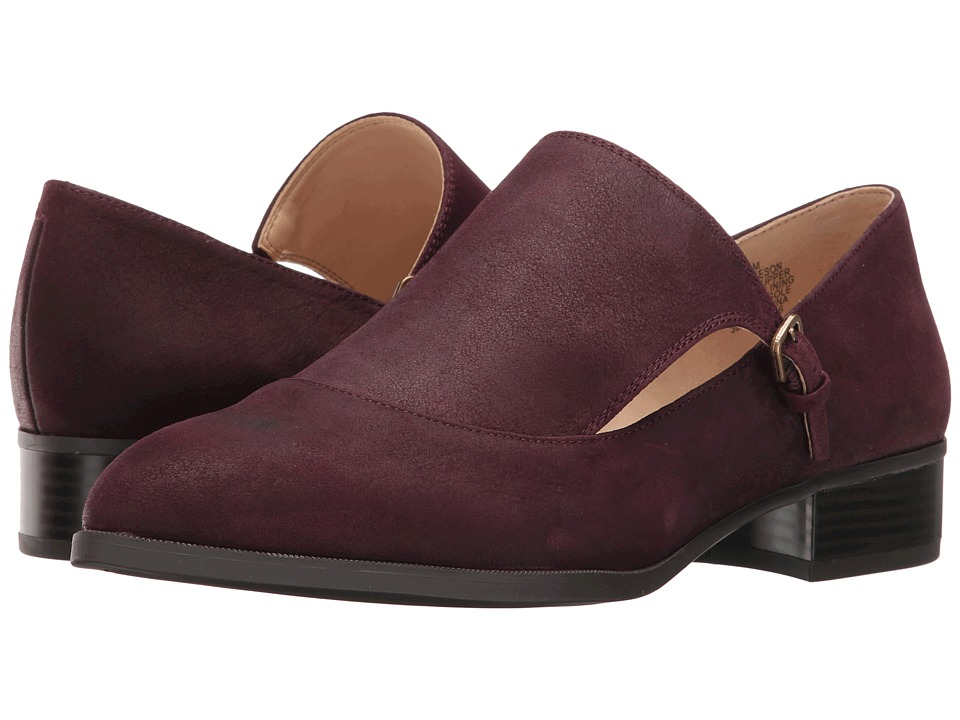 Nine West - Neeson (Wine Leather) Women's Shoes