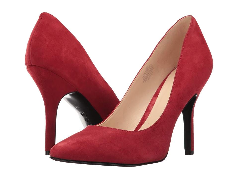 Nine West - Shimmer (Red Suede) Women's Shoes