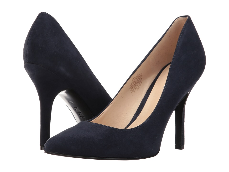 Nine West - Shimmer (Navy Suede) Women's Shoes