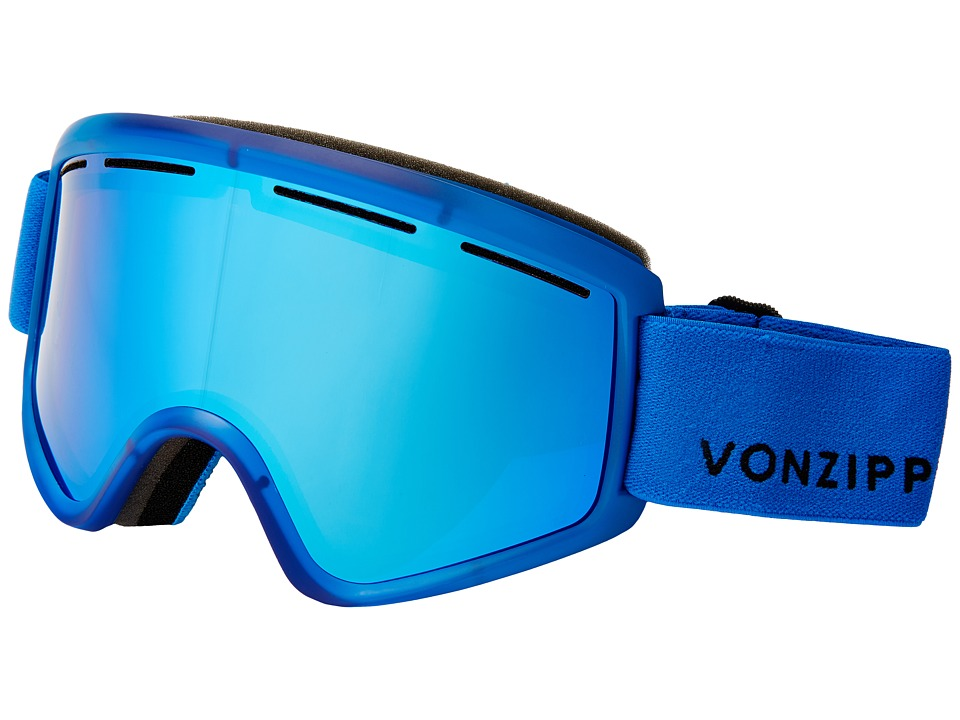 VonZipper - Cleaver (Mono Blue Satin/Sky Chrome) Snow Goggles