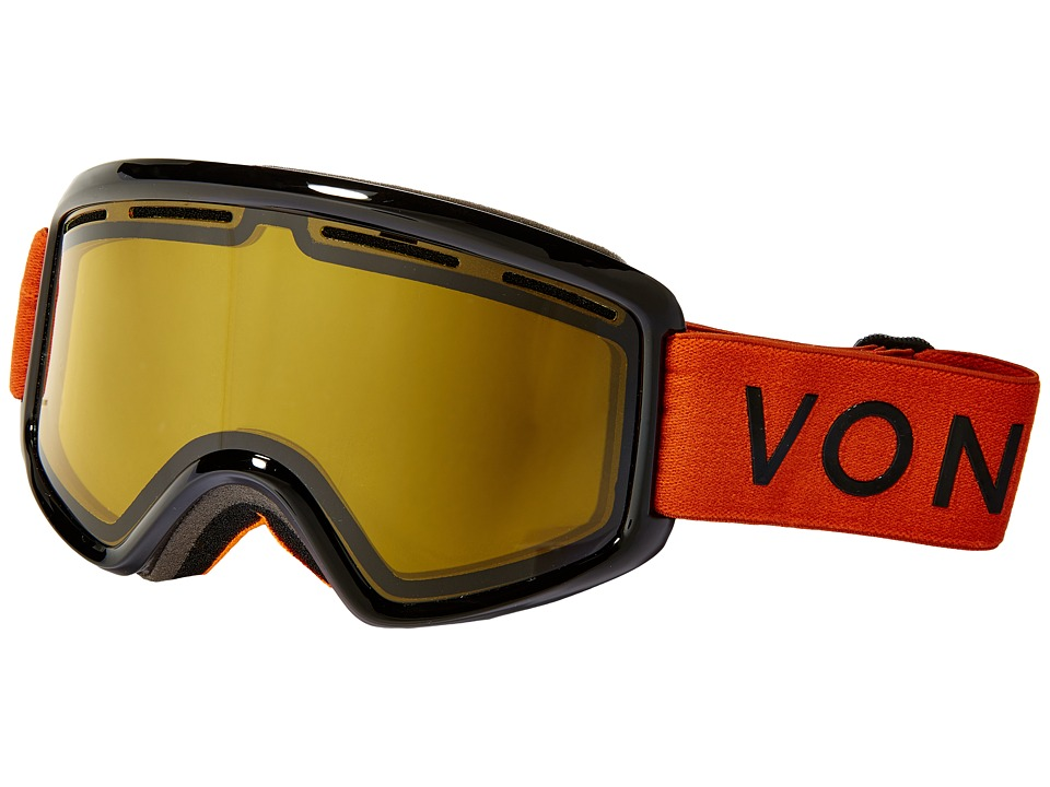 VonZipper - Beefy (Burnt Orange/Yellow) Snow Goggles