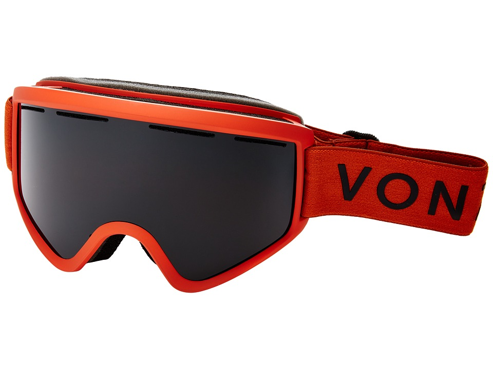 VonZipper - Cleaver (Burnt Orange Satin/Blackout) Snow Goggles