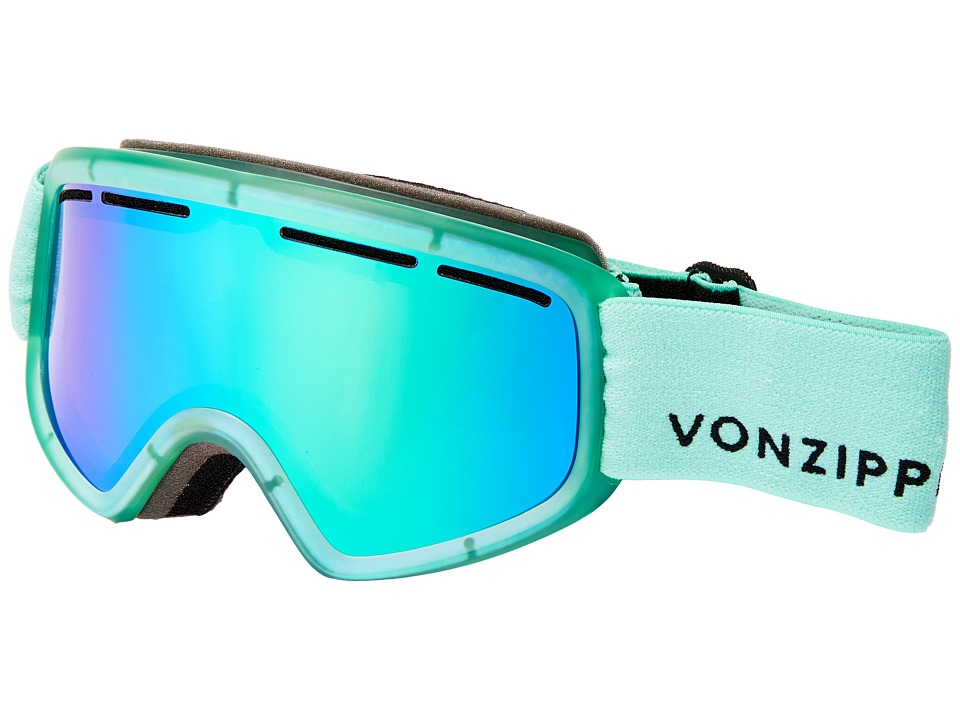 VonZipper - Trike (Mono Mint Satin/Quasar Chrome) Snow Goggles
