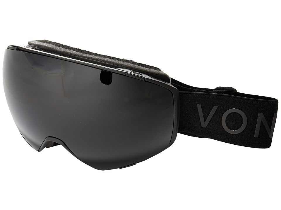 VonZipper Jetpack (Black Satin/Blackout 1) Goggles