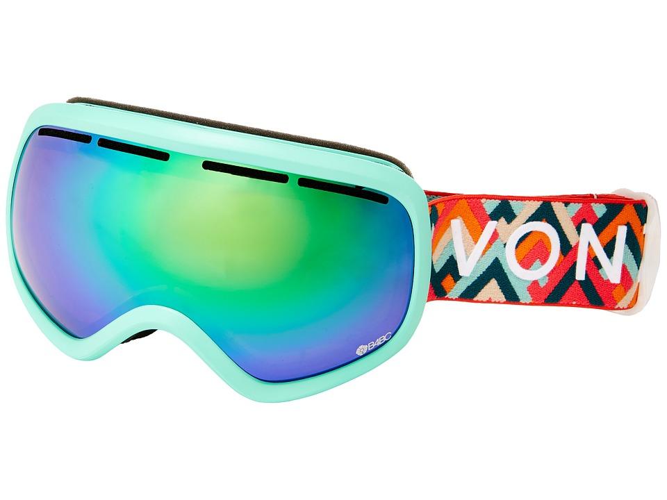 VonZipper - Skylab Goggle (B4BC/Quasar Chrome) Snow Goggles