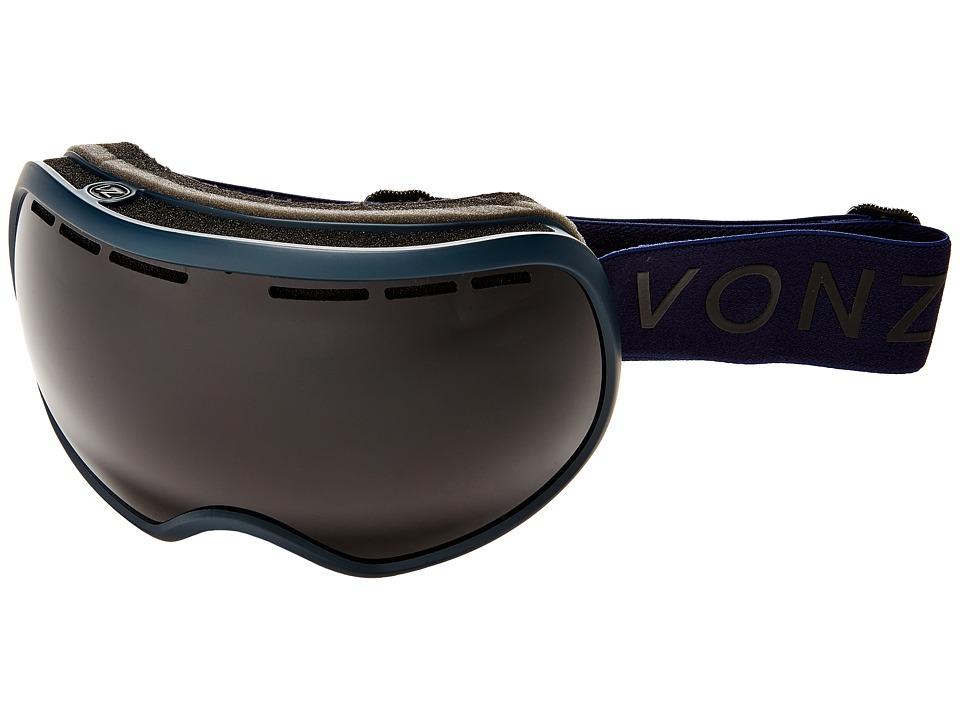 VonZipper - Fishbowl Goggle (Midnight Satin/Blackout) Snow Goggles