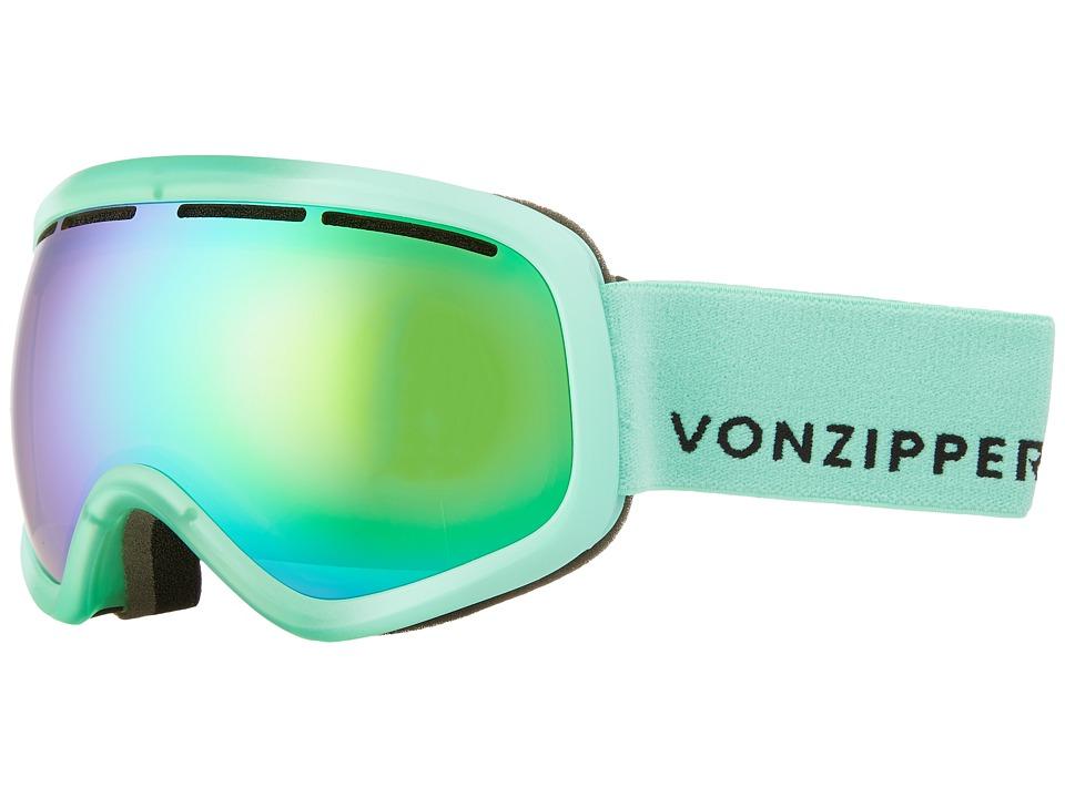 VonZipper - Skylab Goggle (Mono Mint Satin/Quasar Chrome) Snow Goggles