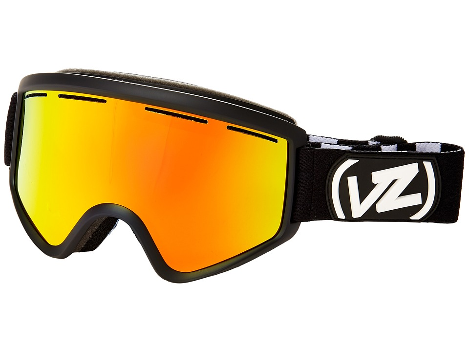 VonZipper - Cleaver (Black Satin/Fire Chrome 2) Snow Goggles