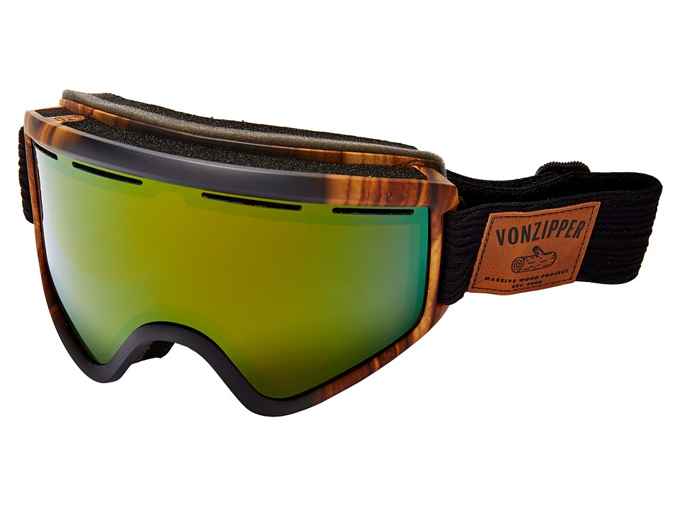VonZipper - Cleaver (Massive Wood Satin/Copper Chrome) Snow Goggles