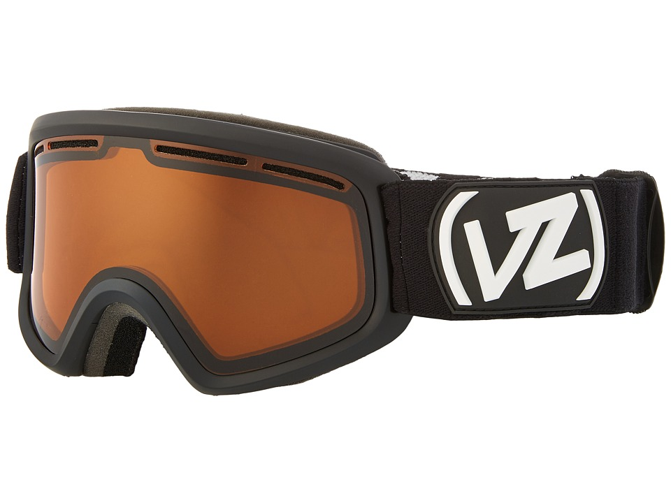 VonZipper - Trike (Black Satin/Persimmon) Snow Goggles