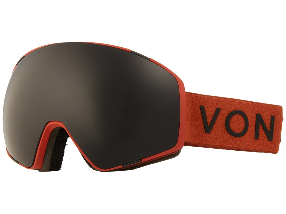 VonZipper - Jetpack (Burnt Orange Satin/Blackout) Goggles