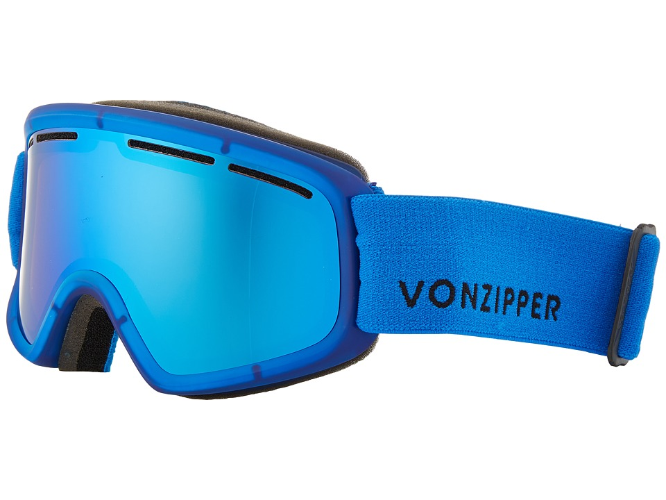 VonZipper - Trike (Mono Blue Satin/Sky Chrome) Snow Goggles