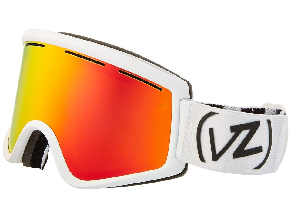 VonZipper - Cleaver (White Satin/Fire Chrome 2) Snow Goggles
